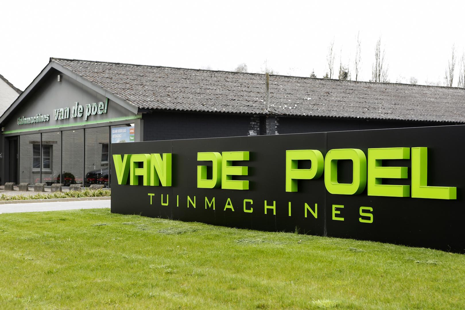 Van De Poel - Van de poel tuinmachines in beeld
